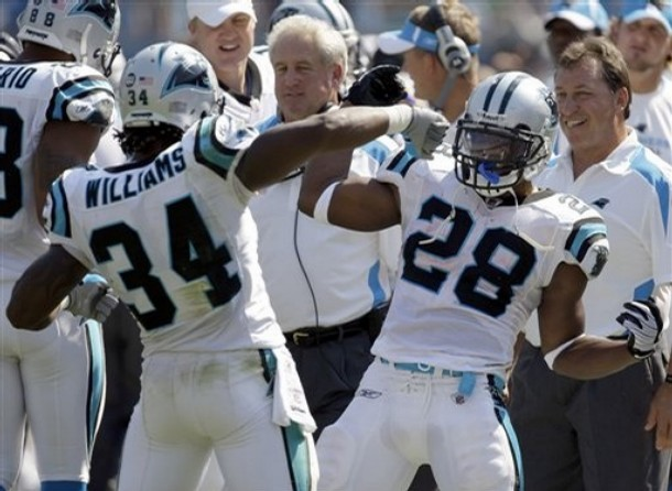 DeAngelo Williams, Jonathan Stewart, Carolina Panthers