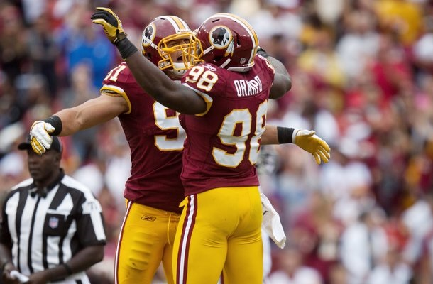 Brian Orakpo, Ryan Kerrigan, Washington Redskins