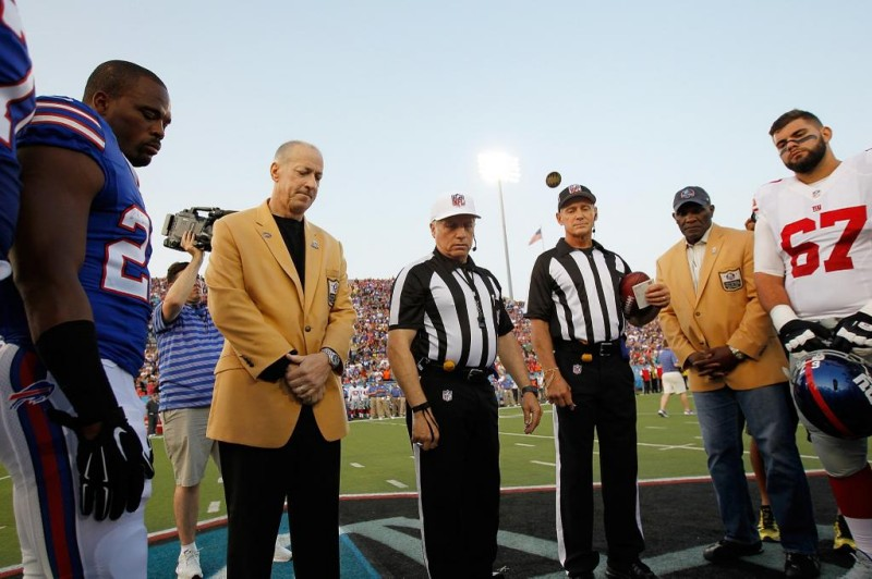 jim kelly coin toss
