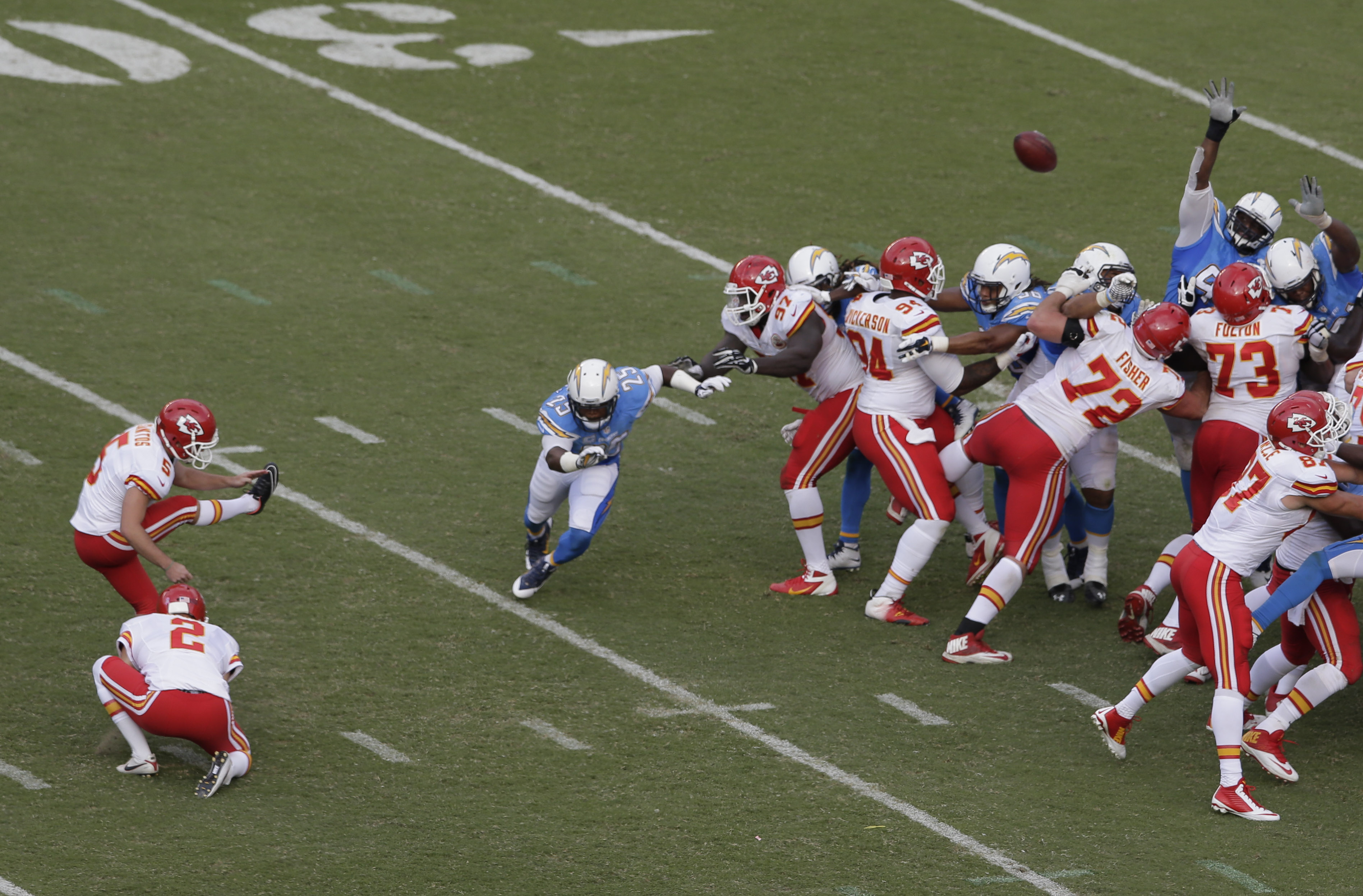 Meno touchdown, più field goal