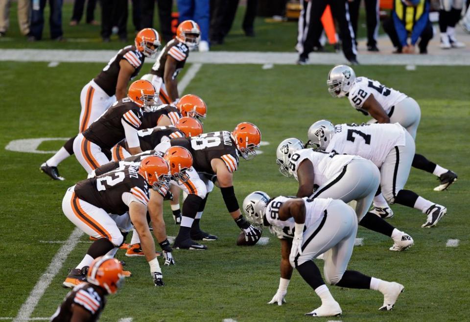 [NFL] Week 8: Vince la noia (Oakland Raiders vs Cleveland Browns 13-23)