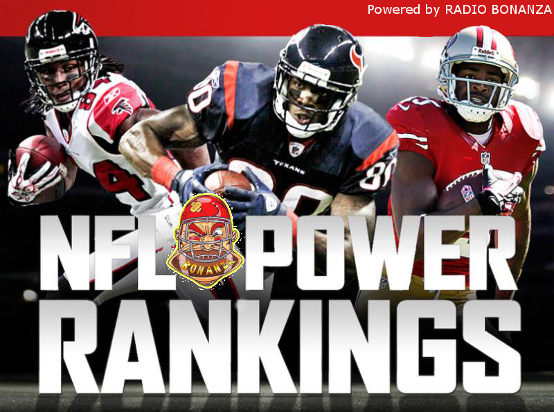 [NFL] Week 17: Power Ranking by Radio Bonanza