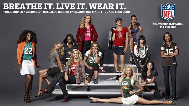 [NFL] Quali magliette NFL sono le più vendute tra le donne?