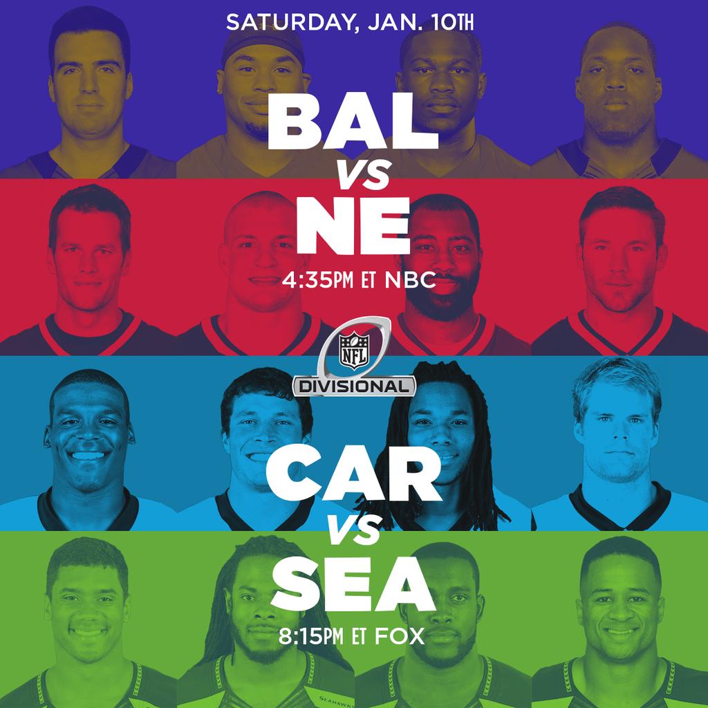 [NFL] Divisional: il nostro preview (più video e statistiche) delle partite di sabato