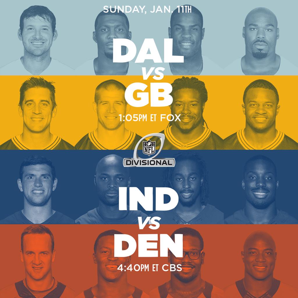[NFL] Divisional: il nostro preview (più video e statistiche) delle partite di domenica