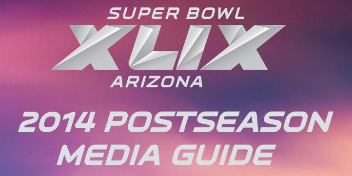 [NFL] NFL Postseason Media Guide