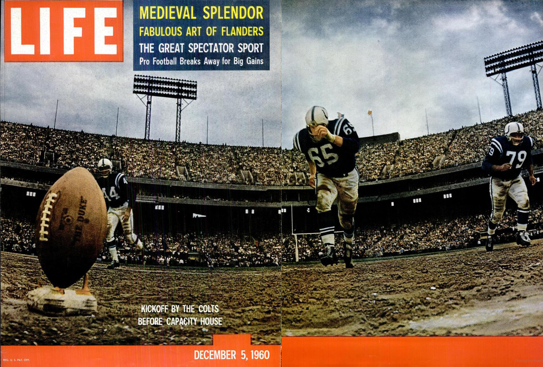 La storia del football americano – 1960: le due leghe