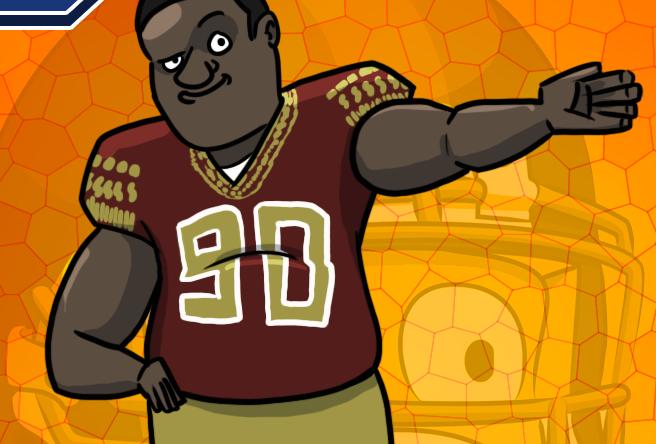Le caricature del Draft NFL - Bonus card