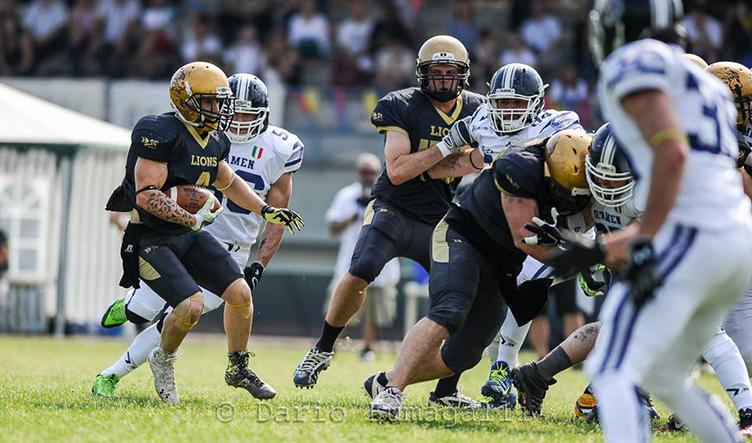 [IFL] Week 9: Marines Lazio imbattuti e sorpresa Lions Bergamo