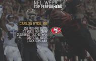 [NFL] Week 1: le migliori prestazioni NFL guardando i numeri