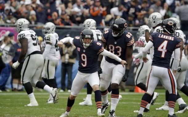 [NFL] Week 4: Predoni sbranati dagli orsi feriti (Oakland Raiders vs Chicago Bears 20-22)