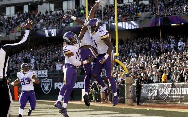 [NFL] Week 10: I Vichinghi saccheggiano Oakland (Minnesota Vikings vs Oakland Raiders 30-14)
