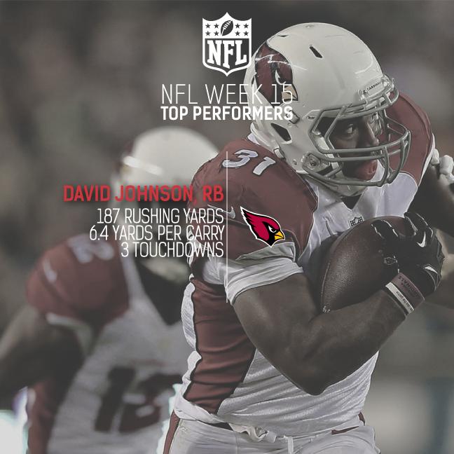 [NFL] Week 15: le migliori prestazioni NFL guardando i numeri