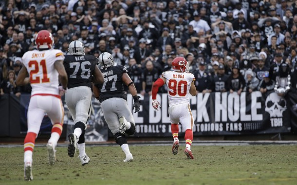 [NFL] Week 13: La fiera degli errori (Kansas City Chiefs vs Oakland Raiders 34-20)