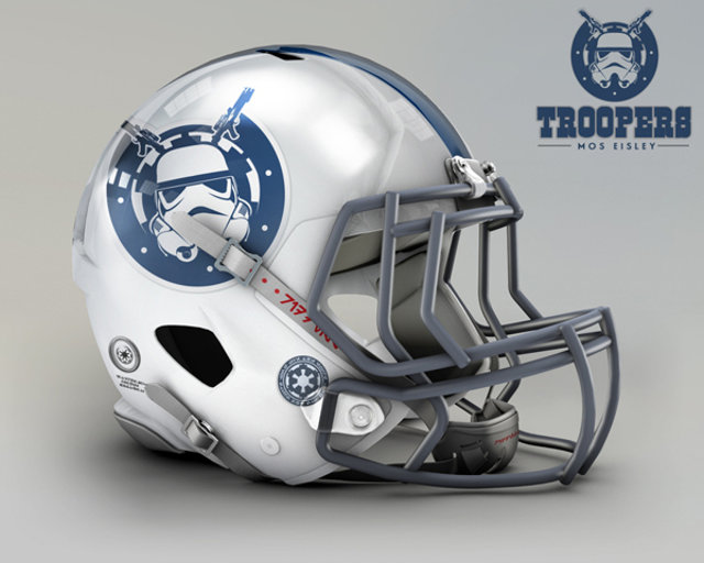 Mos Eisley, Troopers.