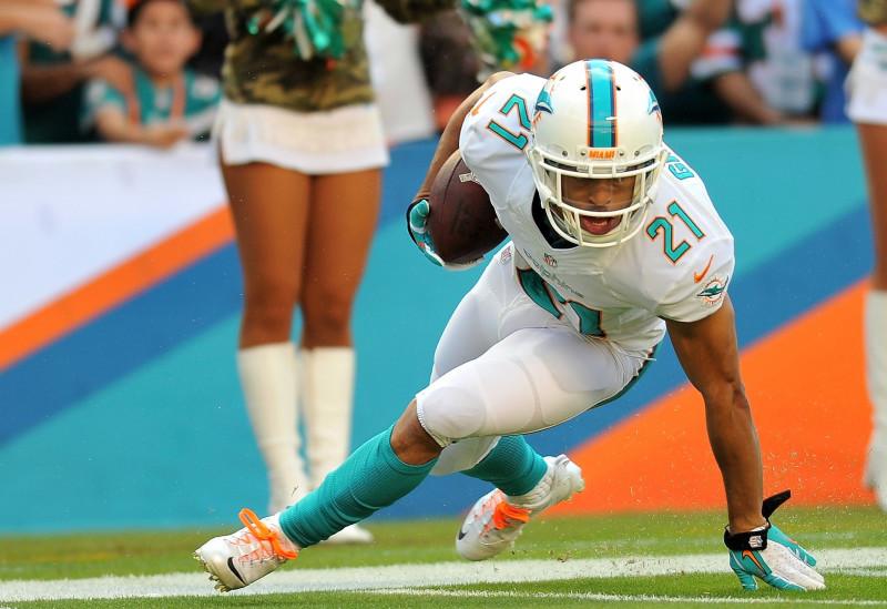 Miami Dolphins cornerback Brent Grimes