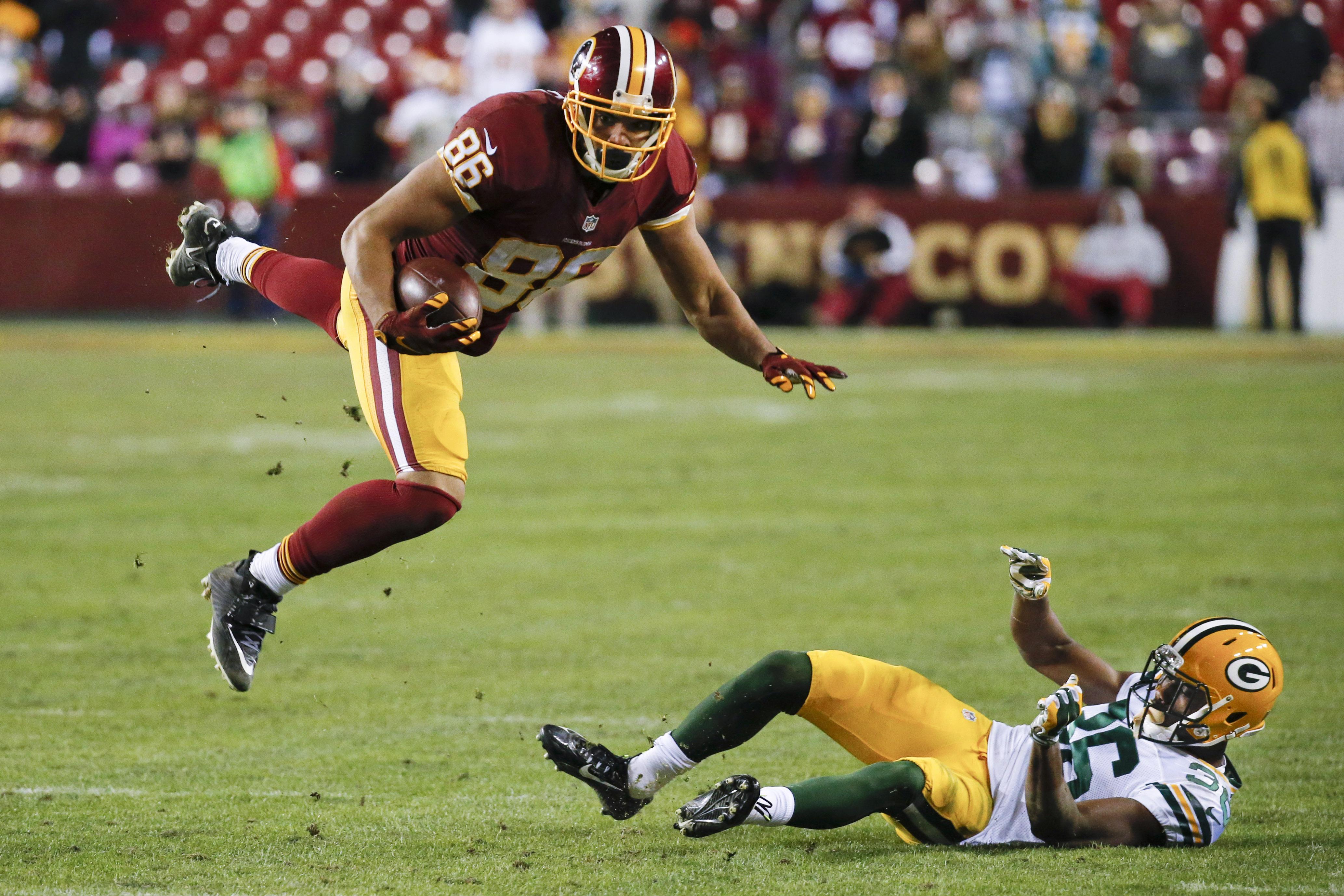 Washington Redskins tight end Jordan Reed