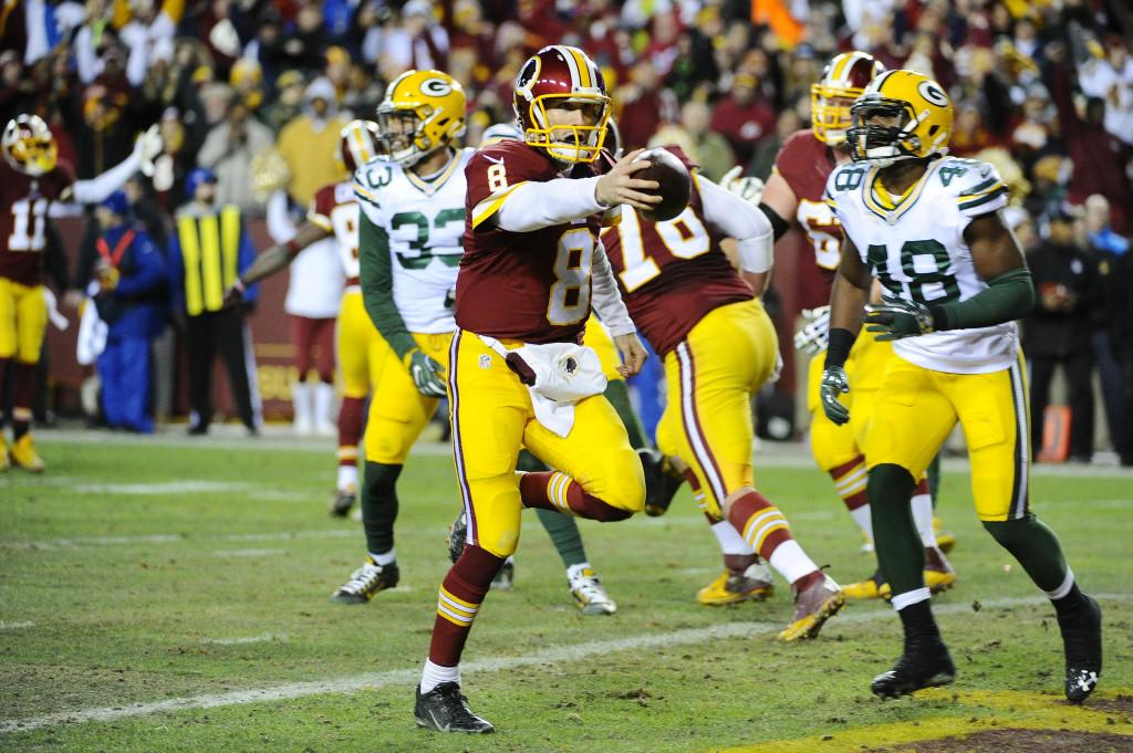 Kirk Cousin Washington Redskins numeri due