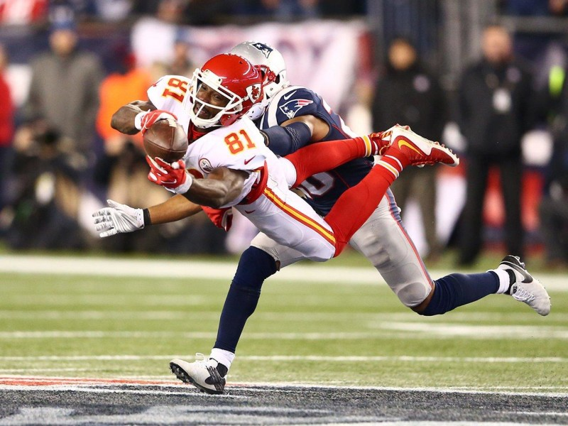 Jeremy Maclin - Chiefs vs New England Patriots