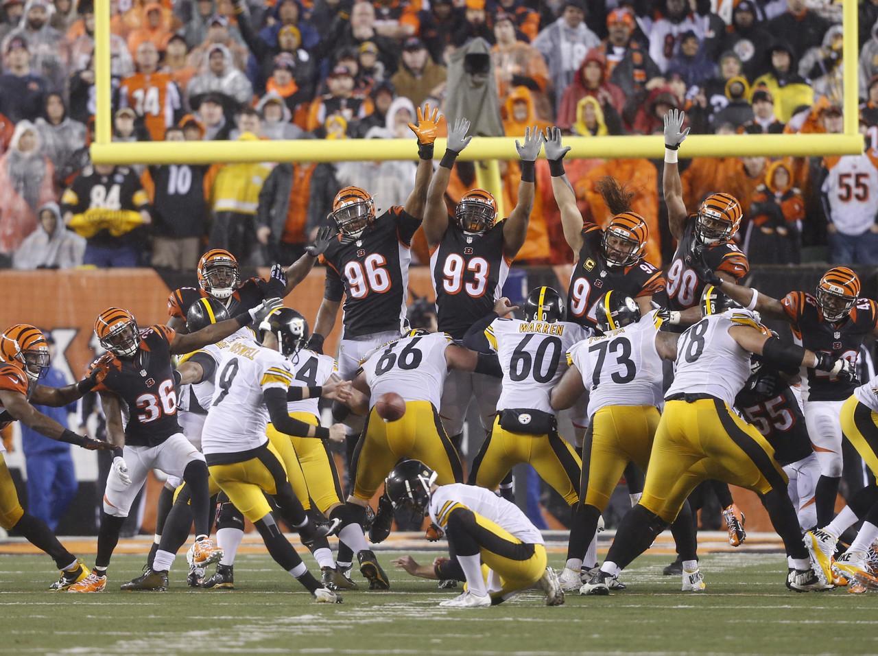 [NFL] Wild Card: Battaglia feroce (Pittsburgh Steelers vs Cincinnati Bengals 18-16)