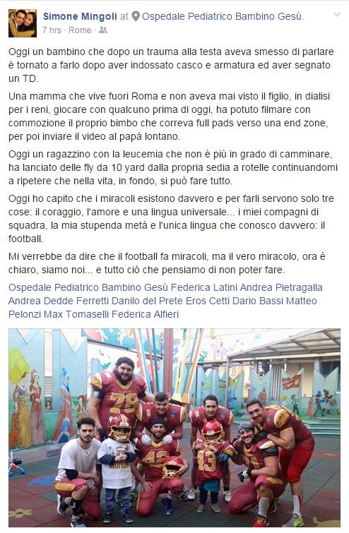Gladiatori Roma bambino gesù