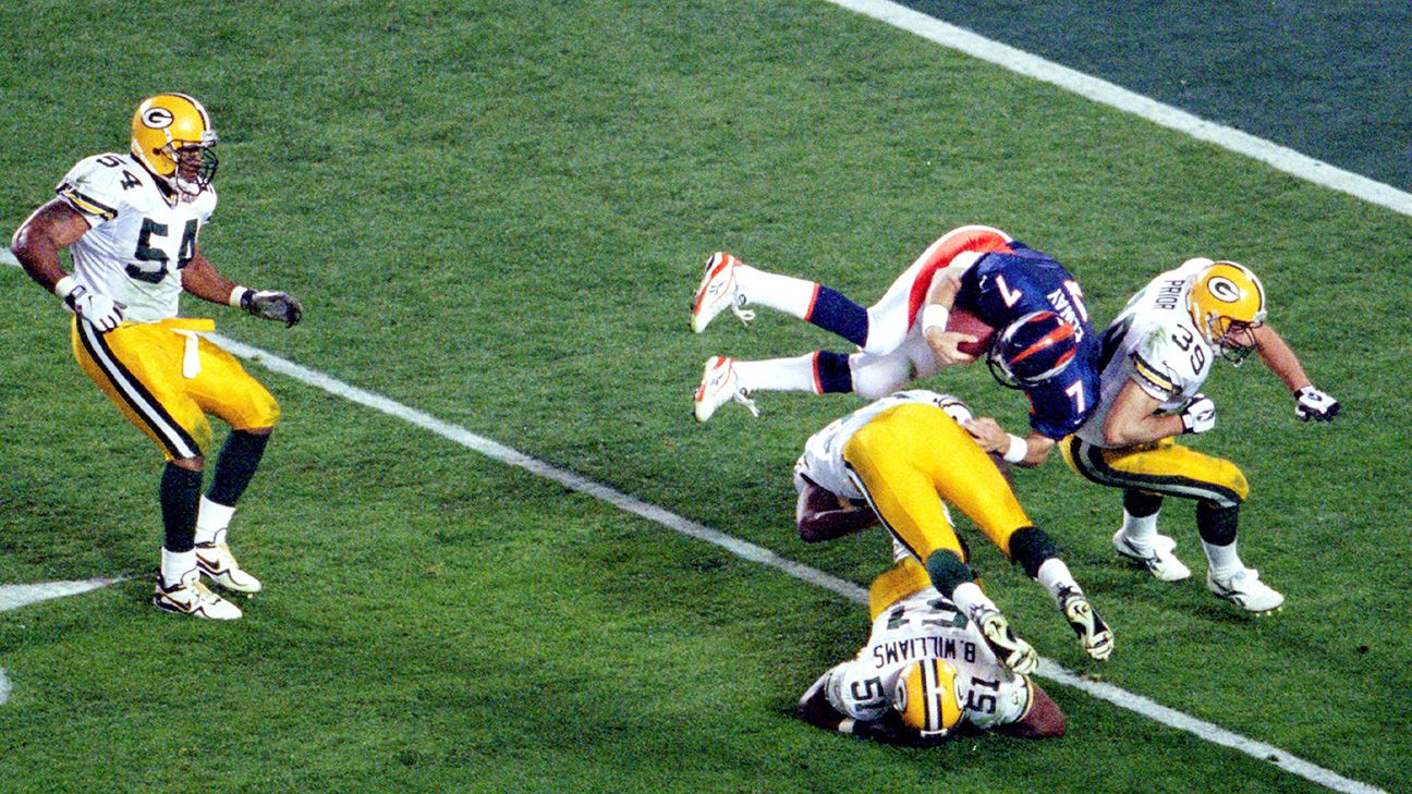 Super Bowl XXXII: John Elway did it!