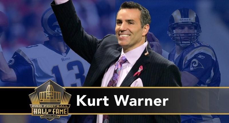 Kurt Warner: undrafted al Draft 2004, comincia la carriera ai Rams a 27 anni. Folgorante scoperta, è MVP NFL nel 1999 e nel 2001, oltre che MVP del Super Bowl XXXIV, vinto grazie alle sue 414 passing yard di guadagno (record assoluto). Perde la finale due anni dopo e nel 2008 alla guida dei Cardinals, alla prima volta in un Super Bowl.