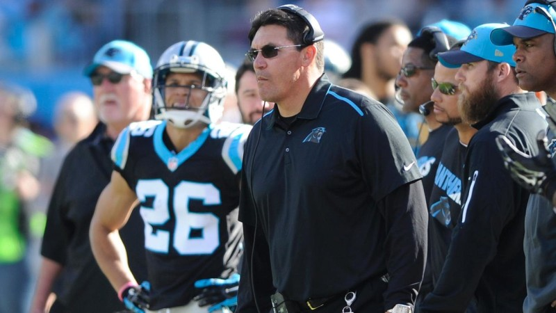 Ron Rivera Carolina Panthers