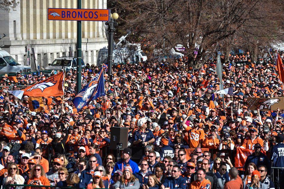 [NFL] SB 50: la parata dei Denver Broncos