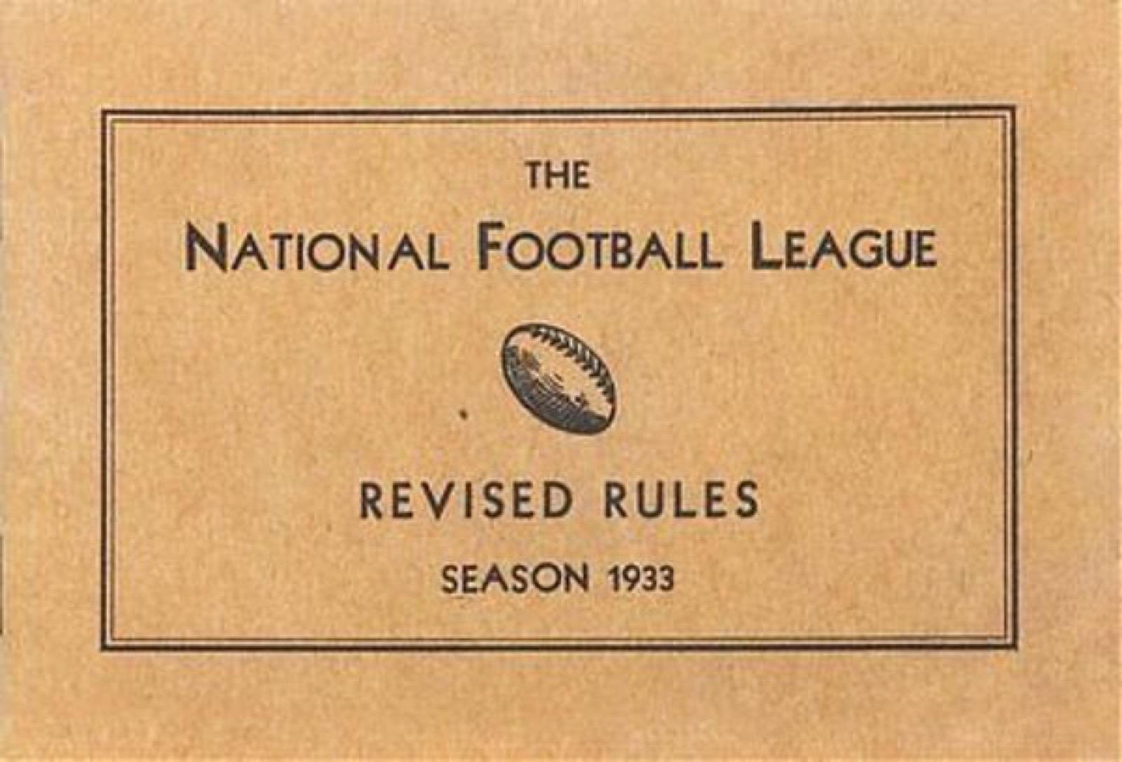 Le (proposte di) nuove regole per la stagione NFL 2018