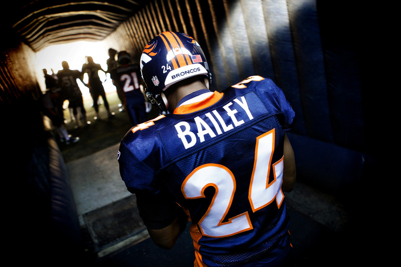 Champ Bailey cornerback broncos