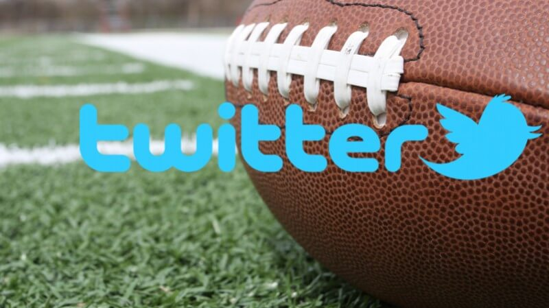 Su Twitter il Thursday Night Football della NFL