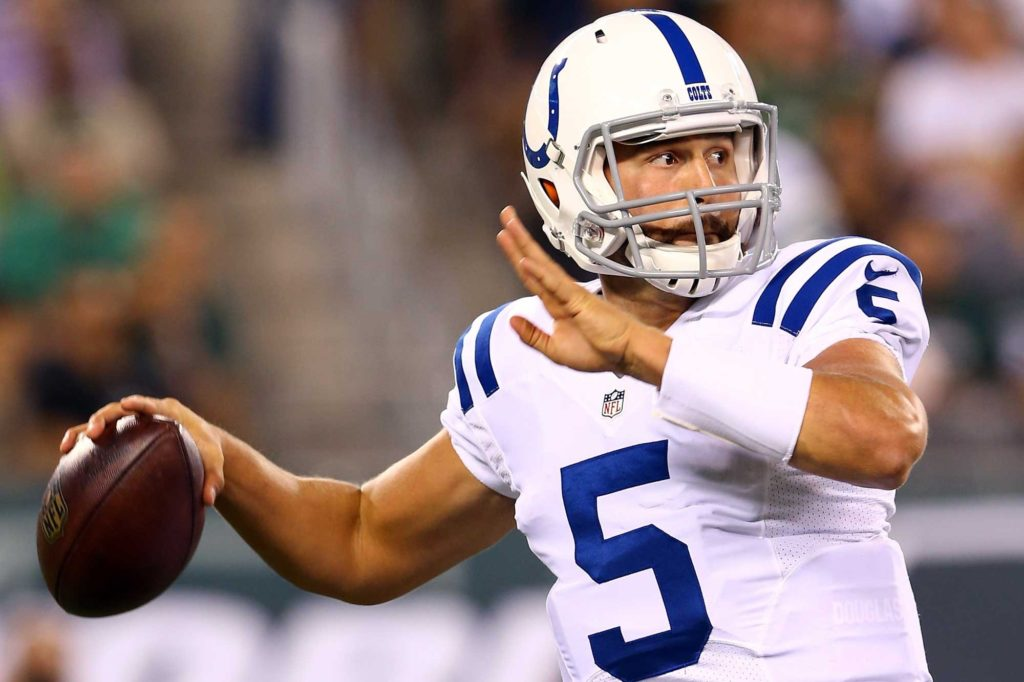 2012 - Chandler Harnish - Colts irrelevant