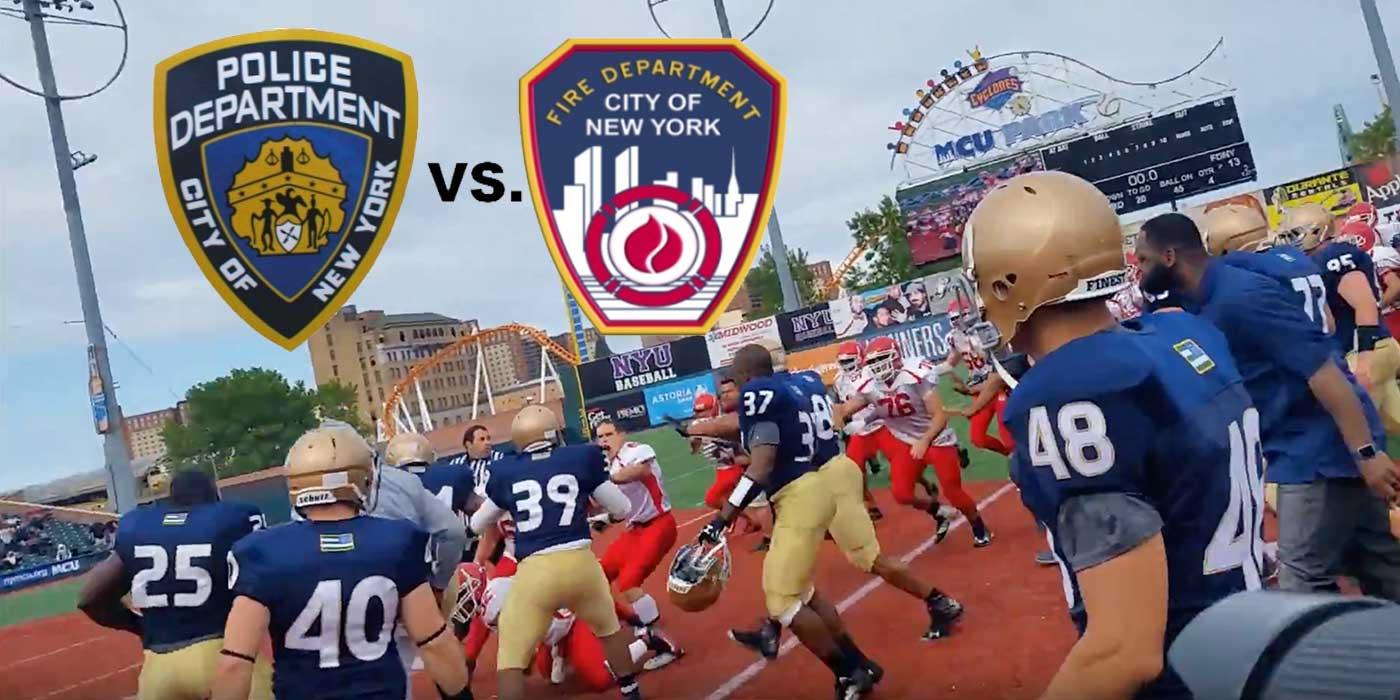 [POST-IT] Polizia + Pompieri + Football = rissa