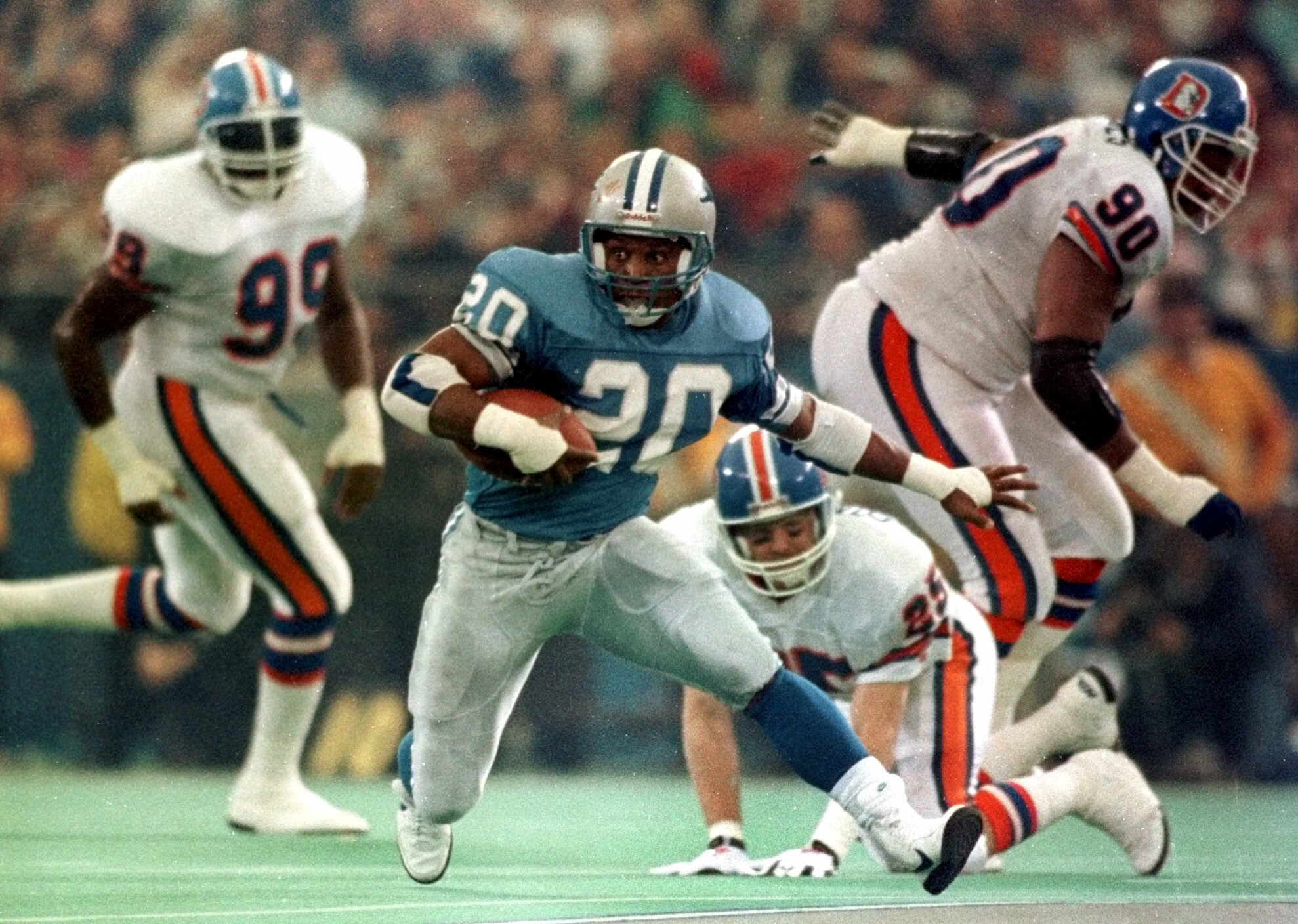 The Lion King: la storia di Barry Sanders