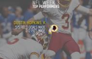 [NFL] Week 3: migliori prestazioni statistiche