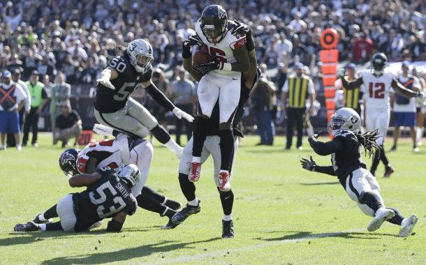 [NFL] Week 2: Buco nero in difesa (Atlanta Falcons vs Oakland Raiders 35-28)