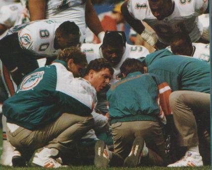 Rottura del tendine di Achille, 11 ottobre 1993