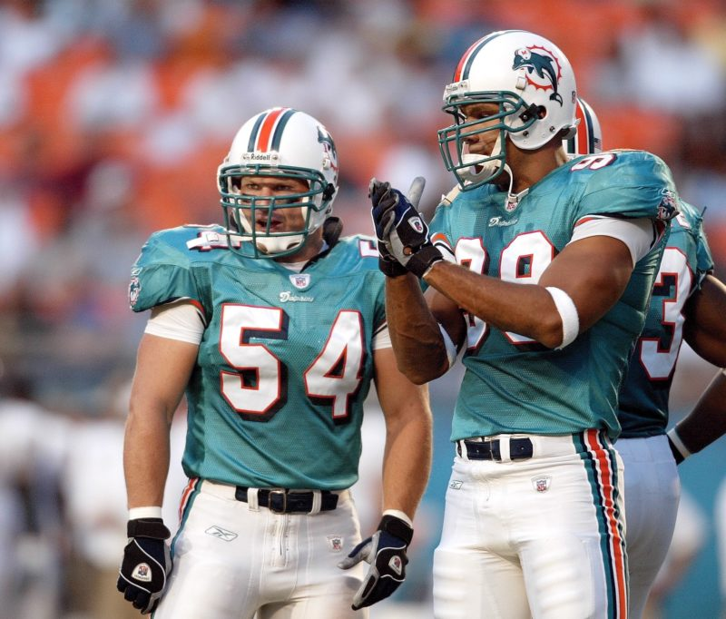 Zach Thomas e Jason Taylor