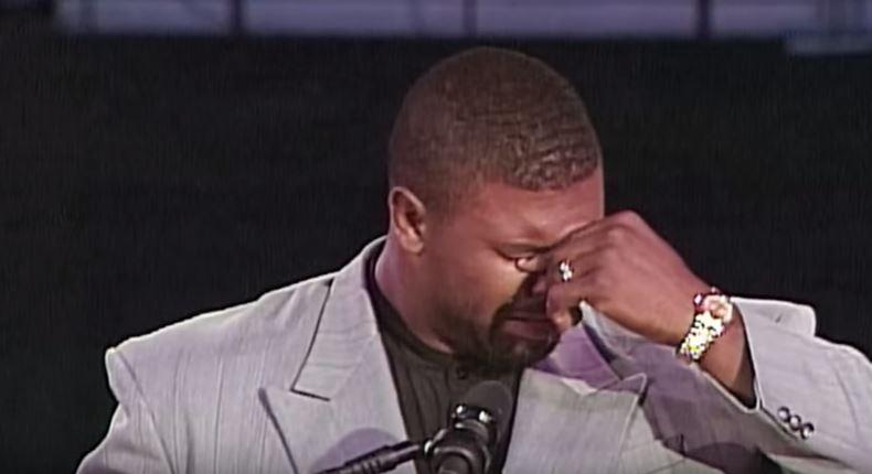White rende pubblica la scomparsa di Jerome Brown (25 giugno 1992, Veteran Stadium)