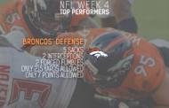 [NFL] Week 4: migliori prestazioni statistiche