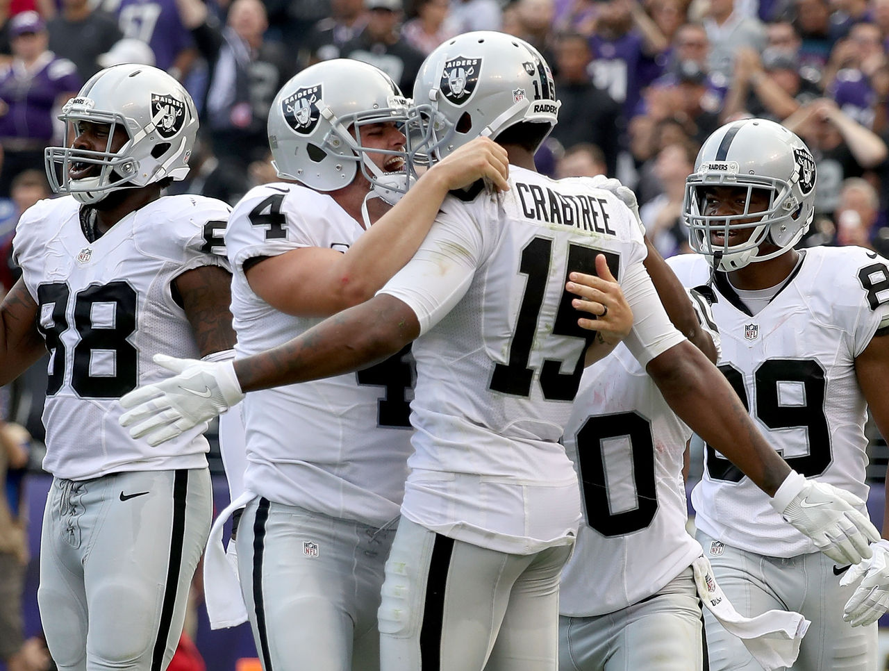 [NFL] Week 4: Altalena di emozioni (Oakland Raiders vs Baltimore Ravens 28-27)