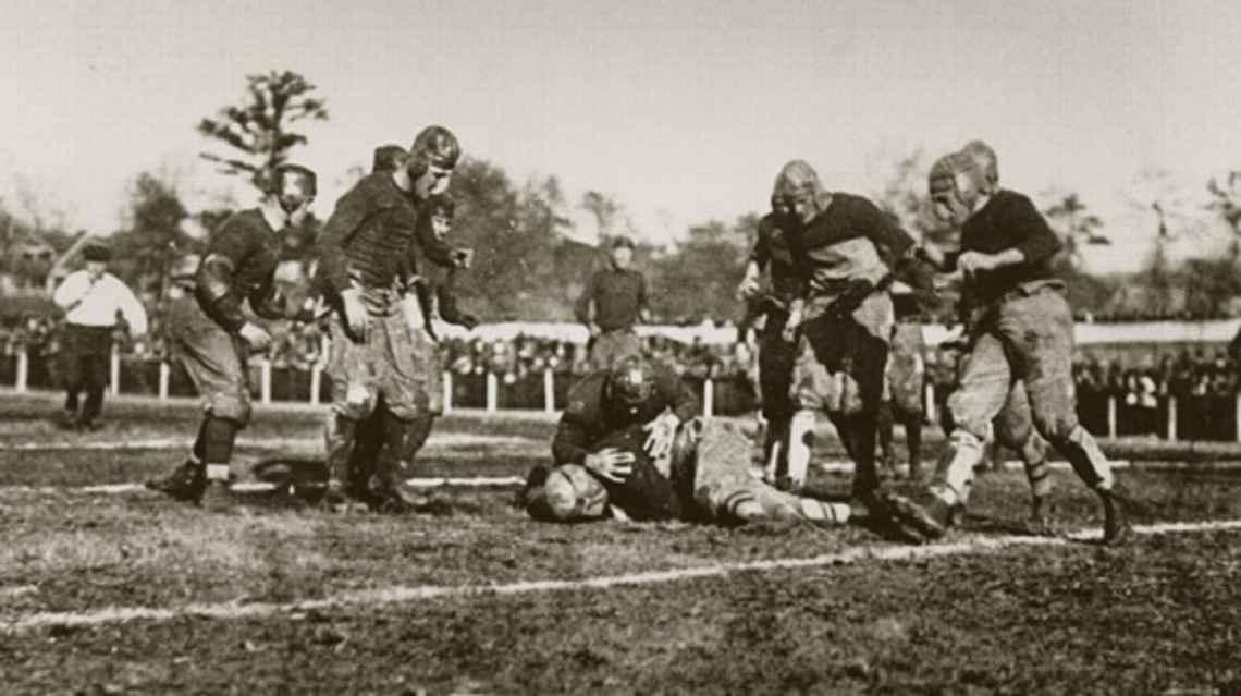 [POST-IT] 100 anni fa Georgia Tech batte Cumberland 222-0