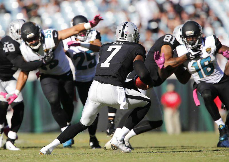 Oakland Raiders at Jacksonville Jaguars