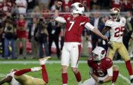 [NFL] Week 10: Catanzaro allo scadere (San Francisco 49ers vs Arizona Cardinals 20-23)