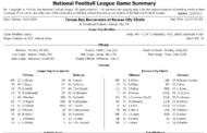 [NFL] Week 11: Gamebook di tutte le partite