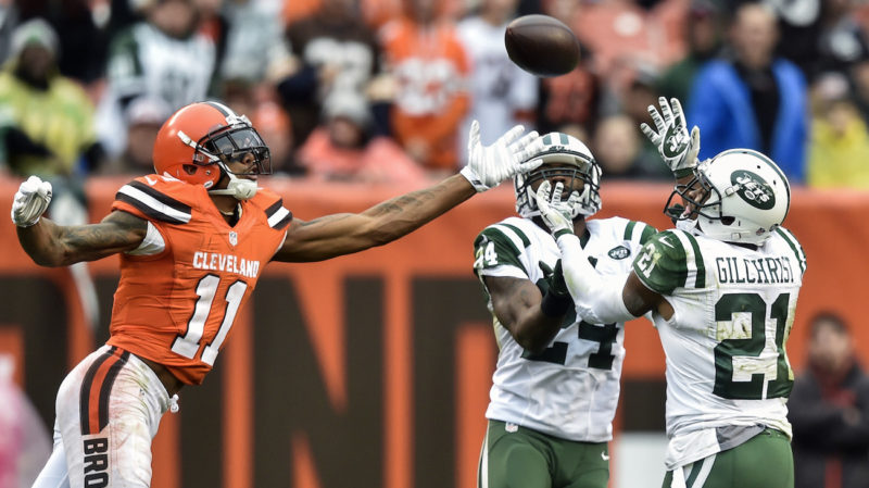 Marcus Gilchrist,Terrelle Pryor, browns jets