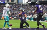 [NFL] Week 13: Il giorno di Pitta (Miami Dolphins vs Baltimore Ravens 6-38)