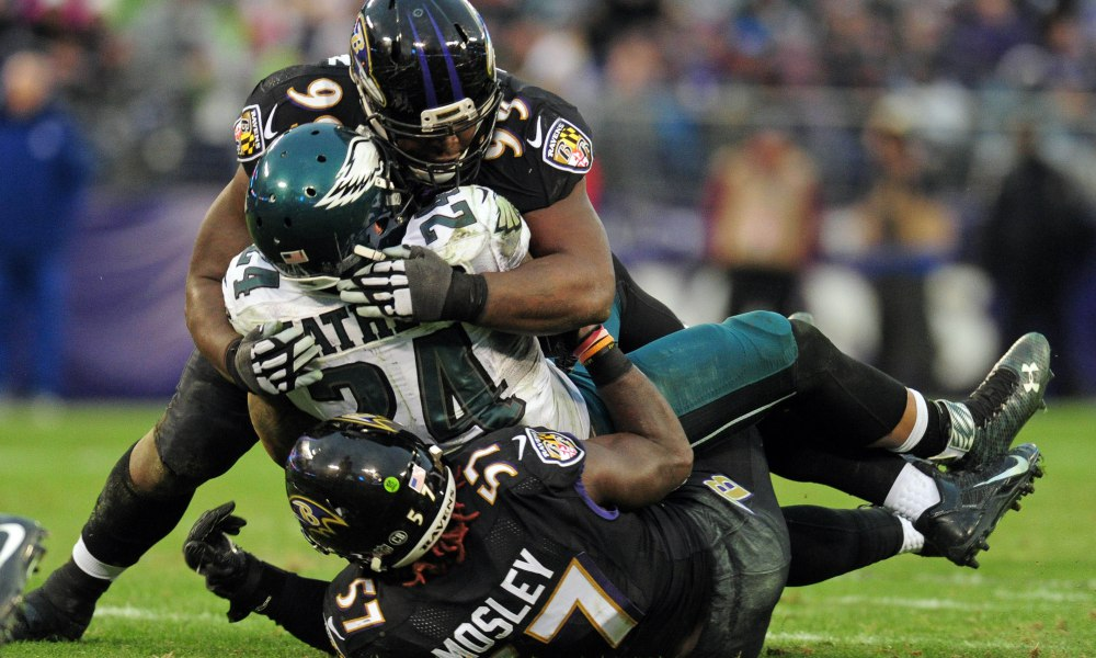 [NFL] Week 15: Two point stop (Philadelphia Eagles vs Baltimore Ravens 26-27)