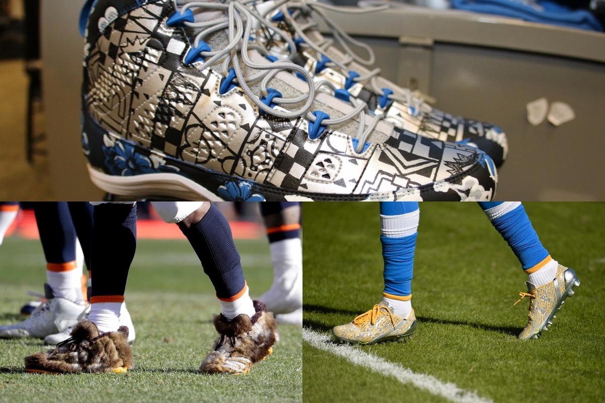 [NFL] Le scarpe colorate (forse troppo)